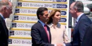 Llega EPN a Australia para participar en la Cumbre del G20