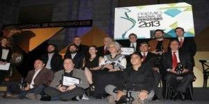 Ganadores del Premio Nacional de Periodismo 2013