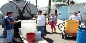 Aumentan denuncias por falta de agua en delegaciones del DF