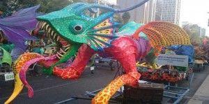 Avanza desfile de Alebrijes en Paseo de la Reforma