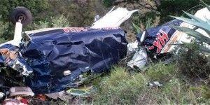 Siete muertos en accidente aéreo en Colombia