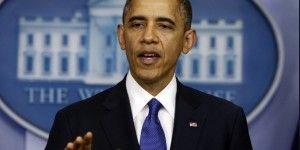Viaja Obama a hospital por malestar de garganta