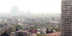 Registra Valle de México mala calidad del aire