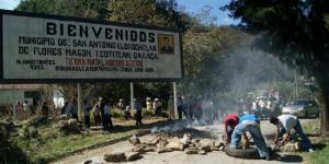 Disputa deja dos muertos y un alcalde detenido en Oaxaca