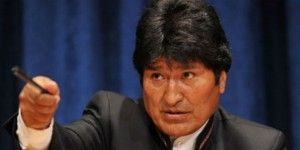 Evo Morales manda mensaje de solidaridad a Nicolás Maduro