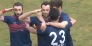 Jugador turco es atacado por festejo fascista