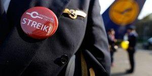 Lufthansa cancela más de mil vuelos por huelga