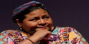 "Menchú aboga por cese de ""criminal"" bloqueo de EE.UU. contra Cuba"