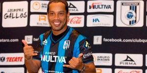 Ronaldinho seguiría en el Querétaro