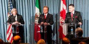 Colaboran México, EE.UU. y Canadá en materia energética