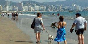 Ocupación hotelera en Acapulco al 50 por ciento