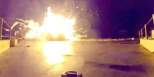 Elon Musk comparte imágenes de la última prueba de aterrizaje de SpaceX