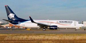 Avión de Aeroméxico regresa a Los Angeles por olor a humo