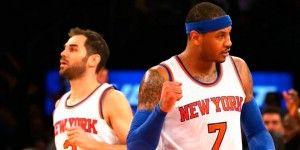 Los Knicks rompen racha de 16 derrotas