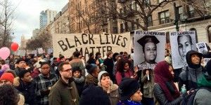 Marchan contra brutalidad policial para honrar a Luther King