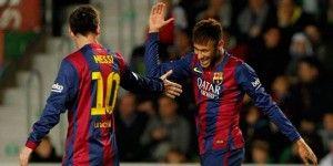 Barcelona golea 6-0 al Elche