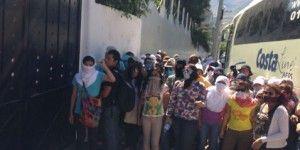 Detienen a normalistas en Guerrero