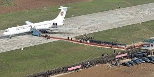 Kim Jong-Un presume avión privado