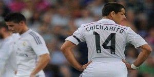 Chicharito sería titular ante el Getafe