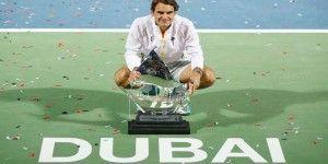 Federer gana torneo de Dubai