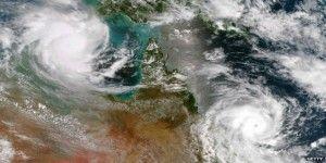 Australia es golpeada por dos ciclones