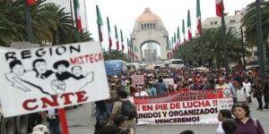 La CNTE rechaza respuestas de SEGOB. Continuarán bloqueos