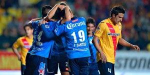 Puebla remonta y derrota a Monarcas