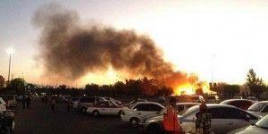 Se incendia panteón al sur del DF