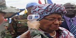 Presidenta de Liberia promete cero casos de ébola
