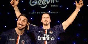 Presentan figura de cera de Zlatan