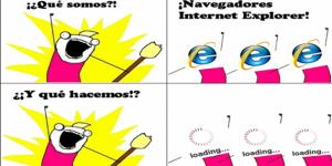 Los memes por la jubilación de Internet Explorer