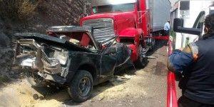 Choque en Chamapa-Lechería deja 2 muertos