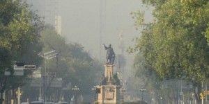 Amanece con mala calidad de aire en el Valle de México