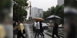 Lloverá muy fuerte en el Valle de México