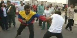 Nicolás Maduro le entra al box