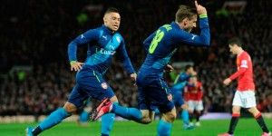 Arsenal eliminó a Manchester United en FA Cup