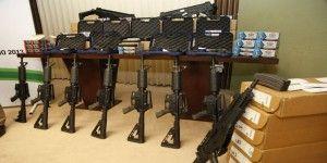 Delincuentes roban y usan armas de policías
