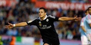 Real Madrid gana con dos de Chicharito