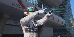 Hamilton se lleva GP de China