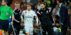 Se confirma lesión de Luka Modric