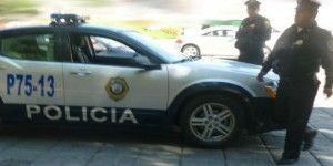 Detienen a 4 presuntos asaltantes tras persecución