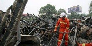 Mueren 38 personas por incendio en casa de ancianos en China