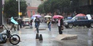 Prevén lluvias fuertes con tormentas eléctricas en el Valle de México