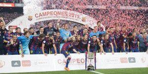 Barcelona gana la Copa del Rey