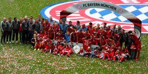 Bayern celebra título con triunfo