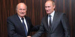 Putin felicita a Blatter por su reelección