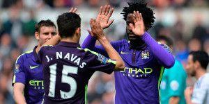 Bony le da el triunfo al Manchester City