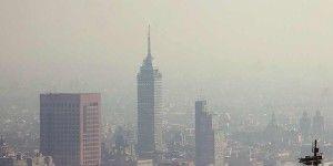 Mala calidad del aire en centro y sur del DF