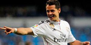 Chicharito marca en la victoria del Real Madrid
