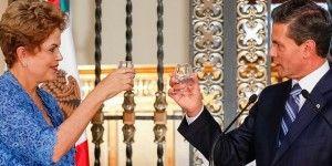 México y Brasil firman acuerdos de inversión, aeronáutica y tecnológico